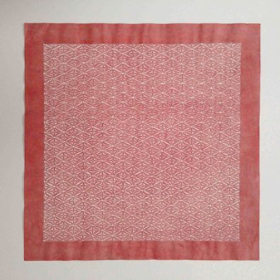 pink lace 1 <br>30-30cm<br>gouache on Chinese cotton paper<br> Price 800 euro