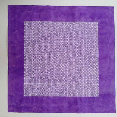 purple lace 3<br> 34-34cm<br>gouache on Chinese cotton paper<br> Price 800 euro